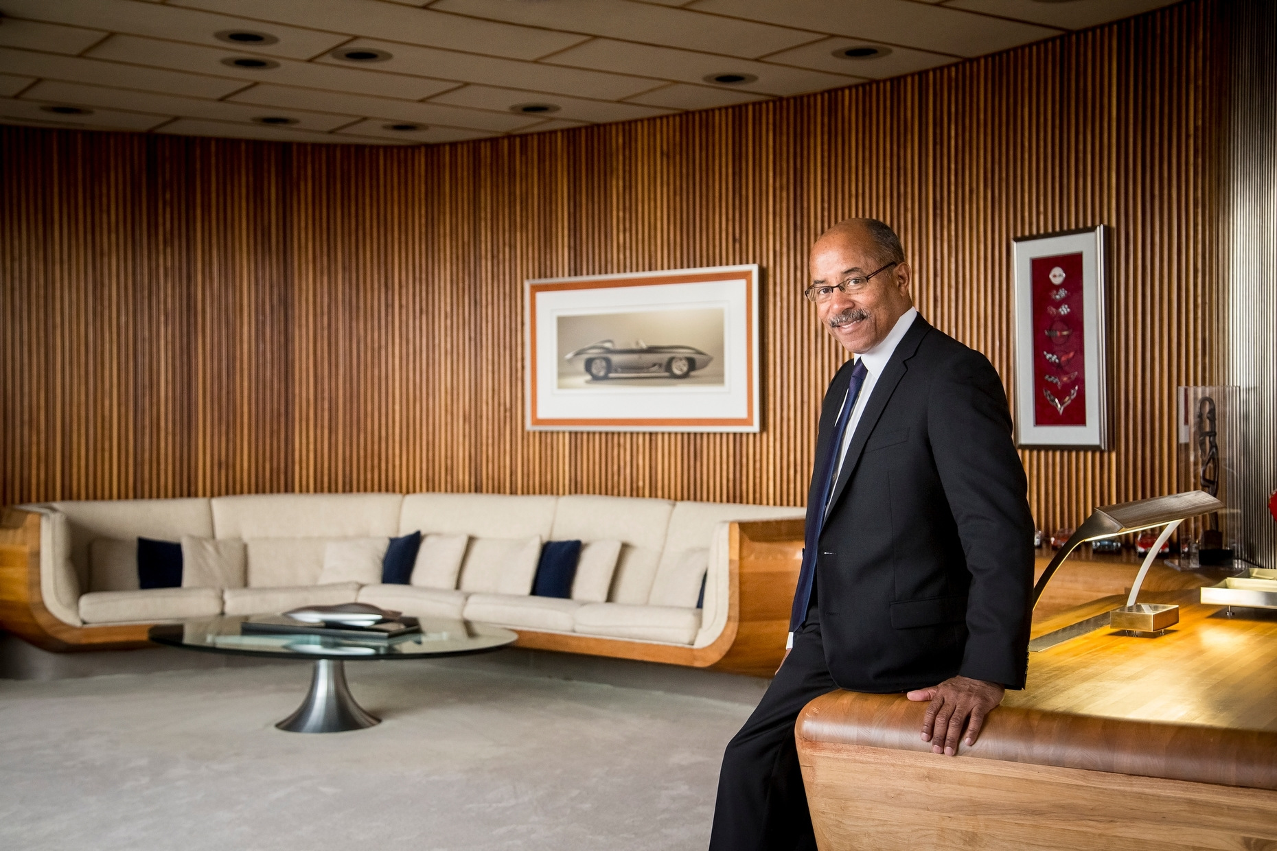 Detroit Portrait Photographer Ed Welburn, GM's vice president of global design