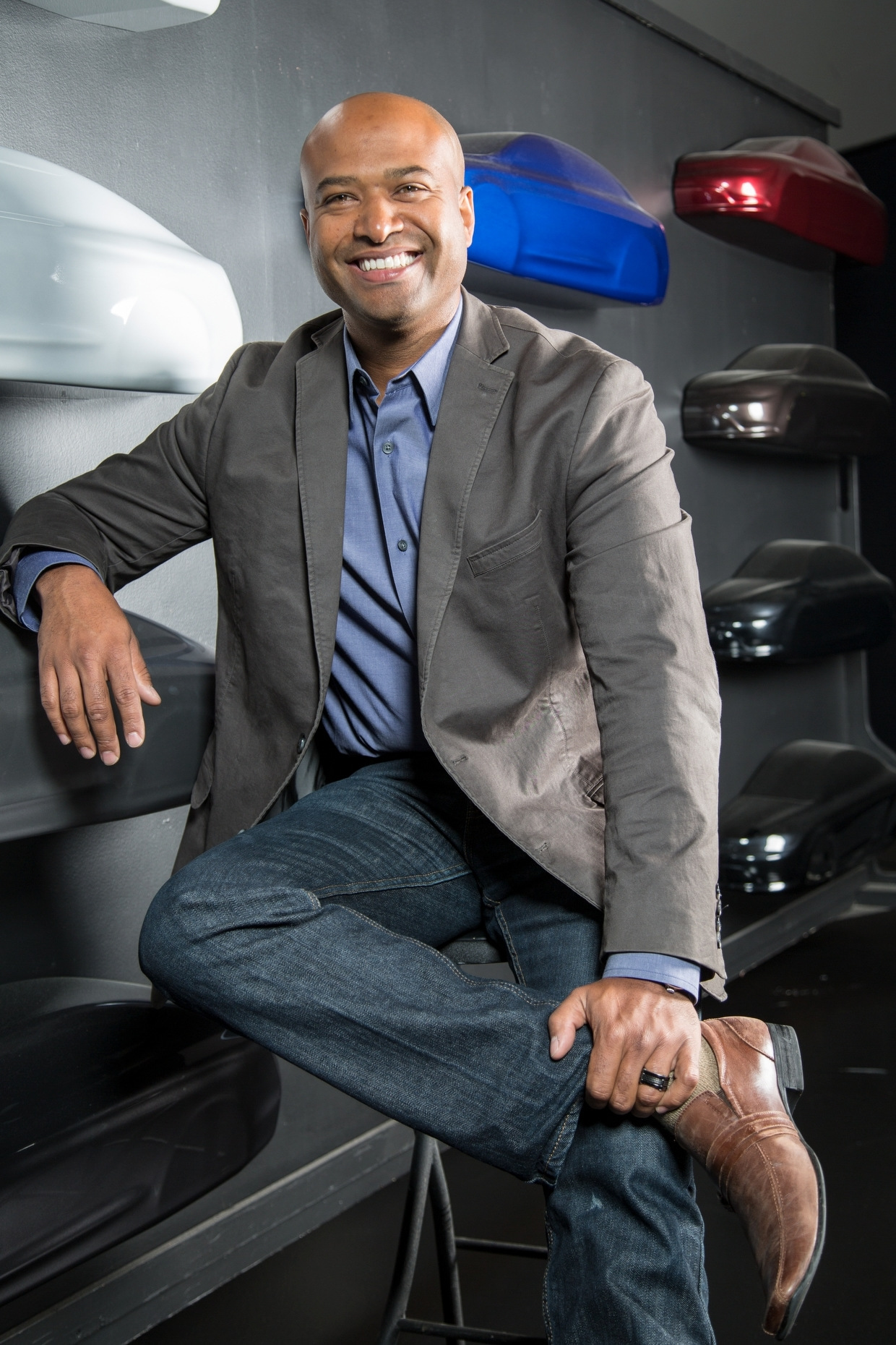 Ralph Gilles, Fiat Chrysler Design Chief
